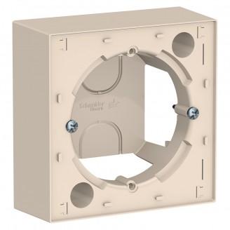 Коробка для наружного монтажа Бежевый AtlasDesign