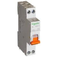 Дифф. автомат(тонкий) 1п.+N 10А 30мА тип АС 4,5кА серия Домовой Schneider-Electric