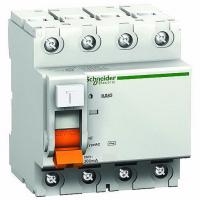 УЗО ВД63 4-пол. 25А 30мА тип АС серия Домовой Schneider-Electric
