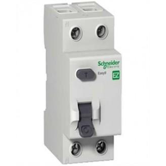 Дифф. автомат 1п. N 25А 30мА тип АС 4,5кА серия Easy9  Schneider-Electric