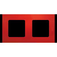 Legrand Etika Красная Рамка 2-ая