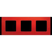 Legrand Etika Красная Рамка 3-ая