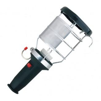 Переносной светильник с ручкой из каучука с вык. 16А