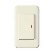 Выключатель 1-кл с подсветкой