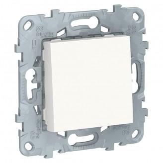 Выключатель 1 кл. Белый Unica New