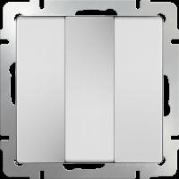 Выключатель 3-кл. WERKEL (белый)