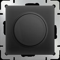Светорегулятор (диммер) 600Вт WERKEL (черный матовый)