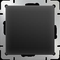 Выключатель 1-кл. WERKEL (черный матовый)