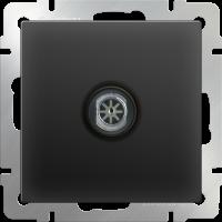 ТВ-розетка оконечная WERKEL (черный матовый)