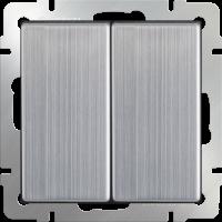 Выключатель 2-кл. WERKEL (глянцевый никель)