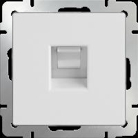 Розетка Ethernet RJ-45 WERKEL (белый)