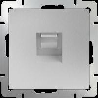 Розетка Ethernet RJ-45 WERKEL (серебряный)