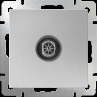 ТВ-розетка оконечная WERKEL (серебряный)