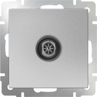 Телефонная розетка RJ-11 WERKEL (серебряный)