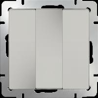 Выключатель 3-кл. WERKEL (слоновая кость)