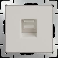 Розетка Ethernet RJ-45 WERKEL (слоновая кость)