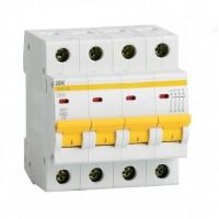 Автоматический выключатель 4п 10А С ВА47-29 4.5кА ИЭК