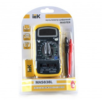 Мультиметр цифровой Master MAS838L ИЭК