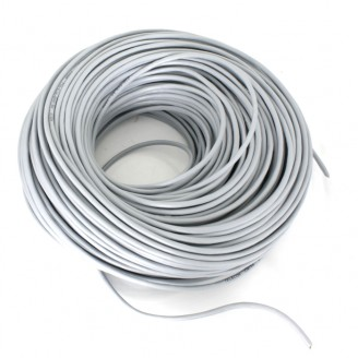 Кабель FTP 4P/ Cat 5e / d=0.48mm / PVC / CU (серый)