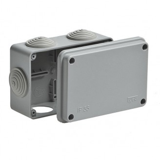 Коробка ОП 240х195х90 IP 55 Рувинил