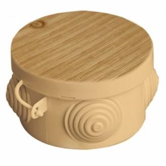 Коробка распаячная ОП 85х40мм  сосна TDM IP54