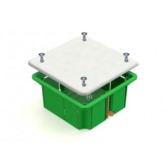 Коробка КМ41021 распаячная 92х92х45мм для полых стен