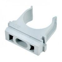 Крепеж-клипса для монтажа ПВХ/ПНД труб d=16 мм (100)