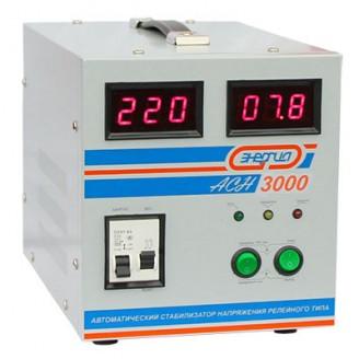 Cтабилизатор напряжения АСН- 3000 ЭНЕРГИЯ с цифр. дисплеем